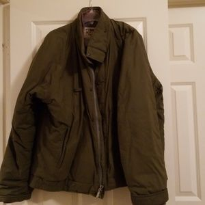 North Face Jacket, Olive Green, XXL